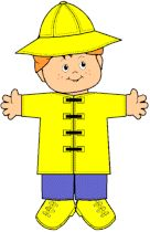 Is it going to rain? Learn to dress right with paper dolls from MakingFriends.com when earning your My Great Day Brownie Badge.