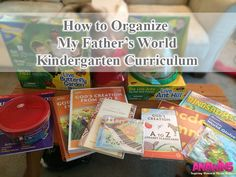 Find out how to organize your My Father's World Kindergarten Curriculum!