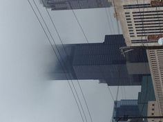 Foggy Chicago! Chicago Places To Visit, Skyscraper, Multi Story Building, Skyscrapers