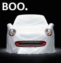 MINI Halloween : Boo.