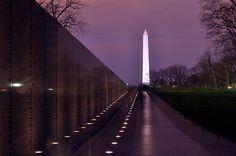 The Wall, Vietnam Memorial- first visit 1991