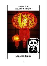 Le panda disparu couv