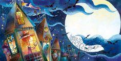 Rogério Coelho - Ilustrador - A bruxinha invejosa