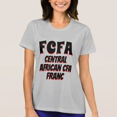 FCFA Central African CFA franc grey T-Shirt - tap to personalize and get yours