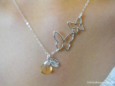 Hey, I found this really awesome Etsy listing at https://www.etsy.com/listing/162077695/personalized-silver-butterfly-necklace