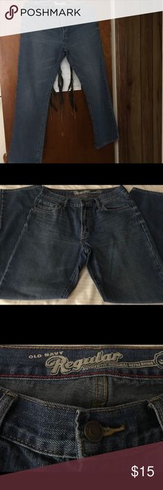 Blue Jeans for Men, Regular Old Navy men's Blue Jeans, regular authentic, 33 inch waist by 32 inch Length. Excellent condition. Old Navy Jeans Bootcut