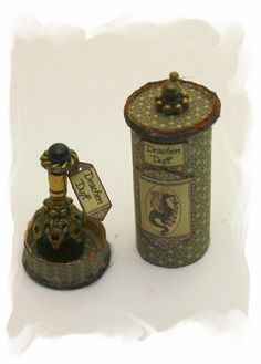 Dragon smell, more nice bottles to see if you follow the link