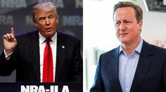 Cameron: 'I'd meet Trump, but his Muslim comments are dangerous'  http://pronewsonline.com  Republican presidential candidate Donald Trump and British Prime Minister David Cameron © John Sommers II / Jack Taylor