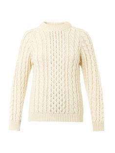 The Aran knit is an &Daughter house favourite and considered to be 'as timeless as a white shirt'.