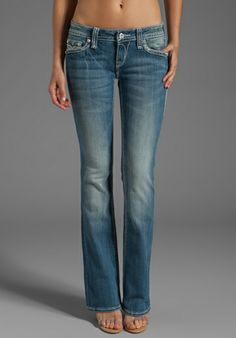 ROCK REVIVAL Abbie Bootcut Jeans in B7