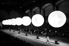 Yves Saint Laurent Fashion Runway Show.