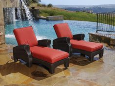 Santa Barbara Single Chaise Lounge   Sunset West   Home Gallery Stores