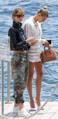 Camila Morrone and Hailey Baldwin – Leaving Eden Roc in Cannes Beautiful Arab Women, Hailey Baldwin Style, Camila Morrone, Latest Fashion, Women's Fashion, Summer Styles, Jessica Alba, One Pic, Cannes