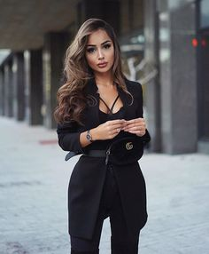 My look for todays event! - wearing my fav watch in black-rose😻 D. - My look for todays event! – wearing my fav watch in black-rose😻 Daniel Wellington - Classy Outfits, Sexy Outfits, Cute Outfits, Fashion Outfits, Prada Outfits, Dress Fashion, Trendy Outfits, Fashion Mode, Look Fashion