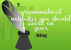 grammatical mistakes