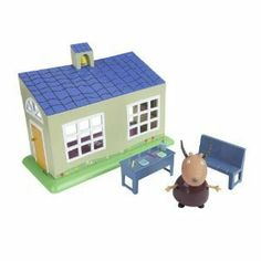 Peppa Pig School House Playset by Character. $55.00. Ages 3+. Visit the School House in Peppa Pig's new collectable world. Play set includes figures and accessories. Ages 3+