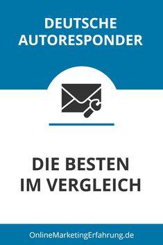 Du hast noch keinen Autoresponder? Dann wird es höchste Zeit, dir einen zuzulegen, und zwar noch heute! Ehrlich, ein Autoresponder katapultiert dein Onlinebusiness in neue Höhen und deinen Umsatz natürlich auch. Hier stellen wir dir die besten deutschen Autoresponder vor. Affiliate Marketing, E-mail Marketing, E Mail Template, E-mail Design, Newsletter Ideas, Finance, Tips And Tricks, Education, German