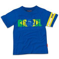 Stones and Bones shirt jongens Brazil koop online bij www.MiniRepublic.nl #voetbal