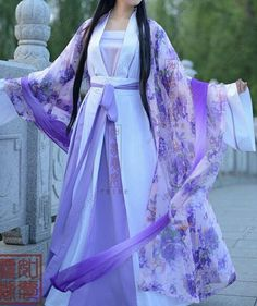 Designer Clothes, Shoes & Bags for Women Oriental Dress, Oriental Fashion, Chinese Traditional Costume, Traditional Dresses, Hanfu, China Mode, Chinese Clothing, Chinese Dresses, Kimono Dress