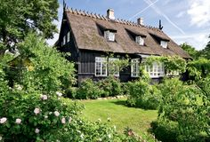 An Old - 1889 - Danish House in Vallekilde, NorthWest Sealand (Sjælland)