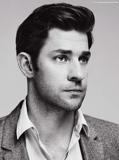 John Krasinski (Jim on The Office) - I would marry him just for his humor alone. He's such a cutie