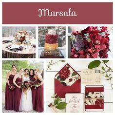 2015 Color Trends. #wedding #weddingcolors #colors #2015 #toastedalmond #strawberryice #custard #glaciergray #tangerine #scubablue #marsala #lucitegreen #classicblue #aquamarine #trends #colortrends
