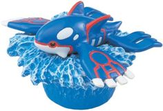 Amazon.com: Takaratomy Pokemon Monster Collection M Figures - M-096 - Kyogre: Toys & Games