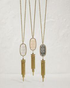 Kendra Scott Kandace Antique Brass Brushed Gold Bracelet
