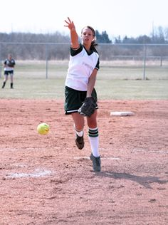 Softball Pitching Drills: The Wrist Snap & Posture | iSport.com