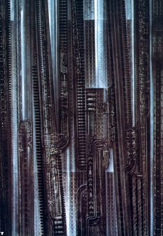 """NYC XXVII"" by H. R. Giger."