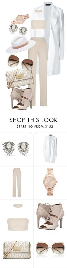 """Simple 👡"" by lucya-knight ❤ liked on Polyvore featuring Ben-Amun, Calvin Klein Collection, My Love My Leggings, Michael Kors, Calvin Klein, Oliver Peoples and rag & bone"