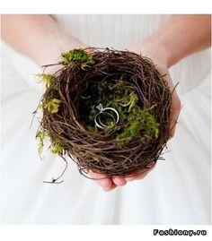 Bird Nest Ring Holder | Woodland Forest Outdoor Rustic Wedding