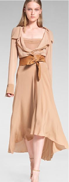 Donna Karan - obi belt designer style