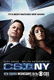 Csi Ny Tv Series 2004 2013 Imdb In 2020 Ncis New York Ncis