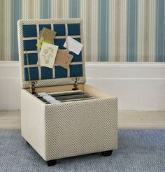 Filing Ottoman - The Dormy House