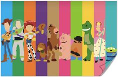 Disney Pixar Toy Story Poster by disneylove417 on Etsy, $10.00