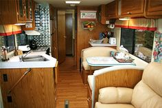 Sketch of Stunning RV Interior Design