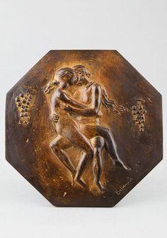 BELMONDO Paul, l'Automne. Sculpture 20e en bronze