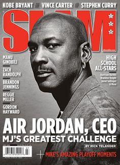 SLAM 139: Charlotte Bobcat owner Michael Jordan appeared on the cover of the 139th issue of SLAM Magazine (2010).