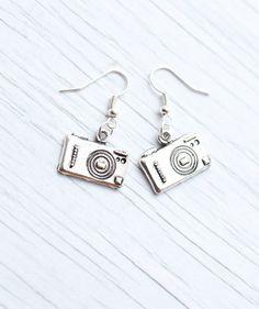 Camera earrings