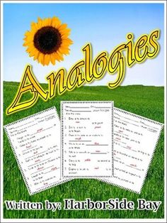 This-RIGHT HERE- is for grades 3rd-4th. Kids will place their thinking caps on and solve the analogies. This file may be used for independent work or group work. And the best part? Comes with Answer Sheets!