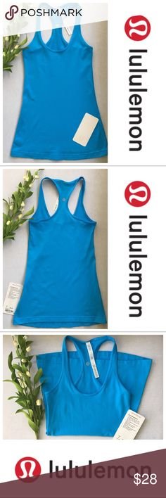 NWT Lululemon Cool Racerback Tank Size 4 WHY WE MADE THIS This versatile tank has a slim racerback that stays put—and out of your way—when you're on the move. Size 4 New w Tags lululemon athletica Tops Tank Tops