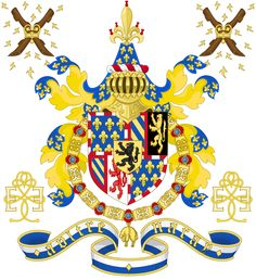 Coat of Arms of Philip III, the Good, Duke of Burgundy Author 	Sodacan Crosses of Katepanomegas  Chivalric Design File:CoA dukes of Burgundy 1430-1482 (chivalric)