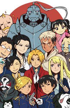 Fullmetal Alchemist Brotherhood   Una de las mejores series de los últimos 15 años, los personajes y sus historias son un deleite, todo acompañado por una animación casi impecable.