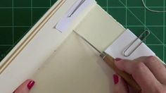 "5-hole pamphlet stitch. how to stitch a pamphlet-style blank journal.  this is a follow-up to my video ""blank pamphlet journal"" that can be seen here:  https://vimeo.com/65481111"