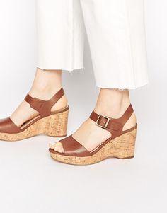 Carvela Sophie Strap Wedge Sandals
