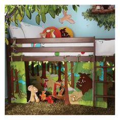 Izziwotnot Tempo Bed Playhouse Canopy-Gruffalo