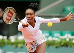 #29-Seed Venus Williams Upset In French Open 2nd Rd. Teenager Anna Schmiedlova def. Vee 2-6, 6-3, 6-4 in the 2nd rd.   5/28/14 <3 #TeamVee!