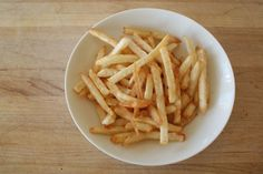 How To Make French Fries At Home