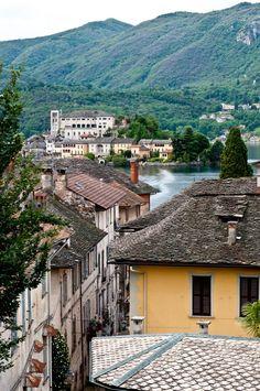 Island of St. Giulio, Lake Orta, Piemonte, Italy | Flickr - Photo Sharing!